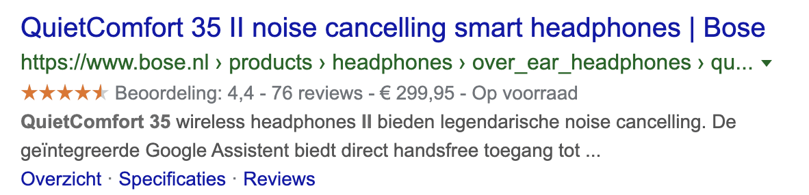 google review sterren